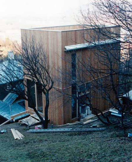 Auftrag Holzhaus