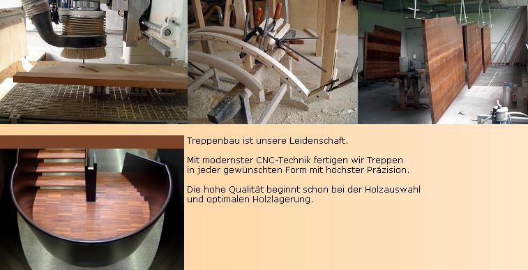 Auftrag Treppenbau