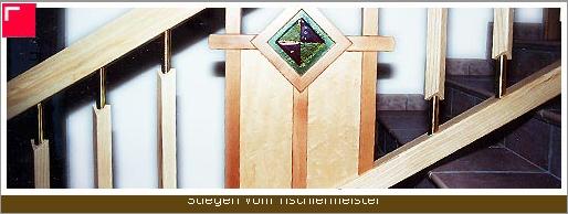 Auftrag Stiegen Holzstiegen machen Atmosphäre