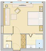 Doppelzimmer Deluxe Pass Thurn