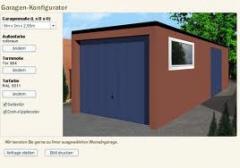 Garagen Planung