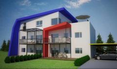 Planung einer Wohnhausanlage