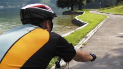 Biken am Traunsee