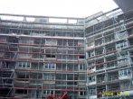 Arbeits-Fassadengerüst